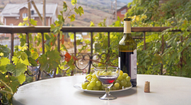 Виноградный натюрморт