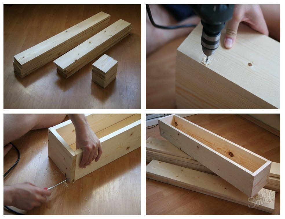 Деревянные ящик сделать своими руками 92