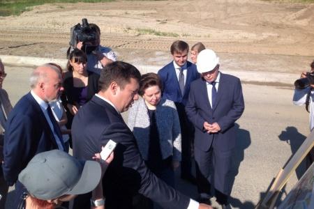 Вчетверг срабочим визитом Сургут посетила губернатор Югры Наталья Комарова