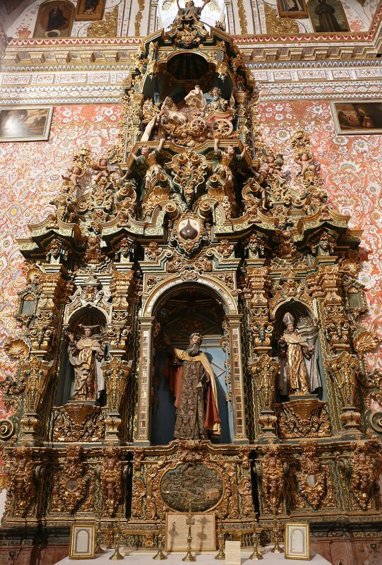 Антекера. Церковь Кармен (Iglesia del Carmen). Интерьеры
