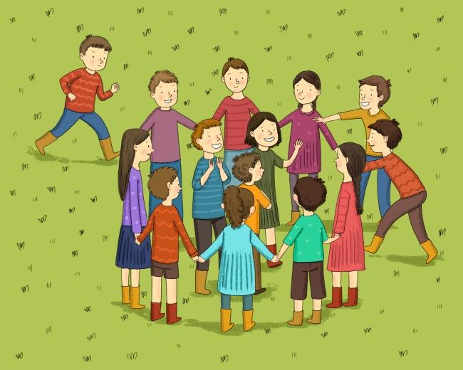 Количество участников: чем больше, тем забавнее Что понадобится: ничего Правила игры: участники стан