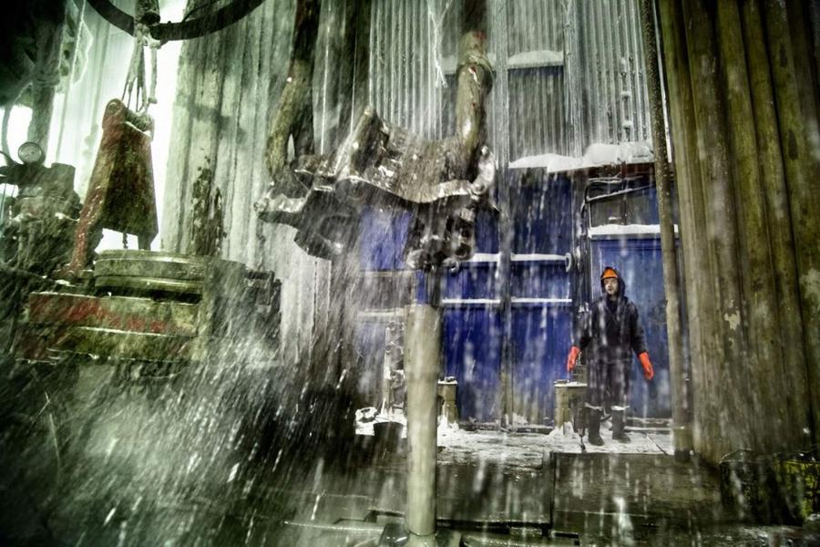 7. Работники нефтегазодобывающей отрасли на Ямале, где расположены крупнейшие залежи природного газа