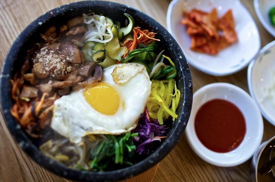 29. Южная Корея Популярный в Южной Корее панчхан представляет собой большое разнообразие закусок, по