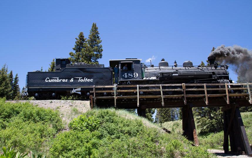 7. Камбрес и Толтек, США Этот маршрут проходит по самому высокому перевалу США Кабрес, высота которо
