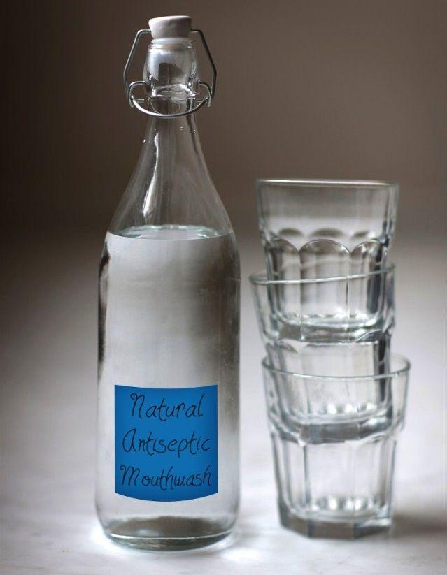 3. Ополаскиватель для полости рта Дезинфицирующие свойства водки известны всем, но не все знают, что