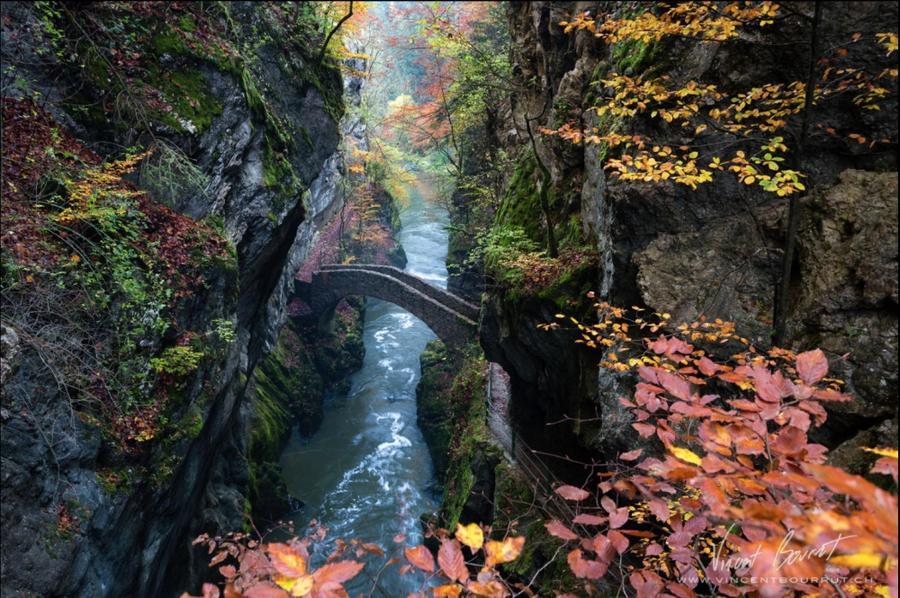 15. Ущелье Аройзе, Швейцария