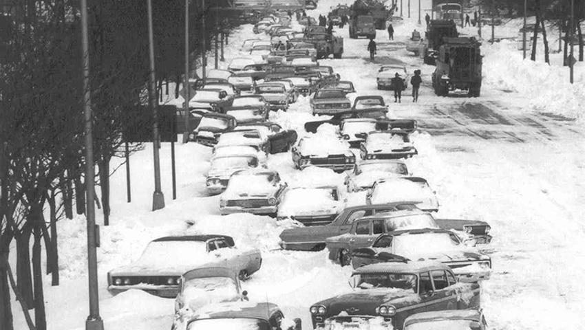 1. Чикаго, США 1967 — 58 сантиметров снега Этот снегопад запомнился как «Снежная буря 67-го». Он уда
