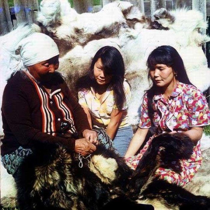 13. Всего 600 тофала?ров (раньше их называли карагасами) живет сейчас в Восточной Сибири.