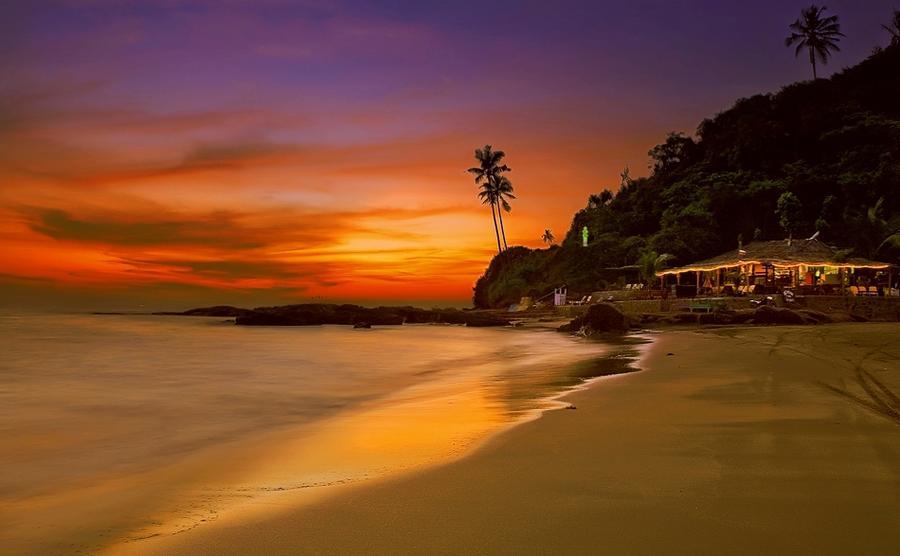 6. Индия. Гоа Это место стоит посетить хотя бы для того, чтобы полюбоваться сказочными пляжами и уди