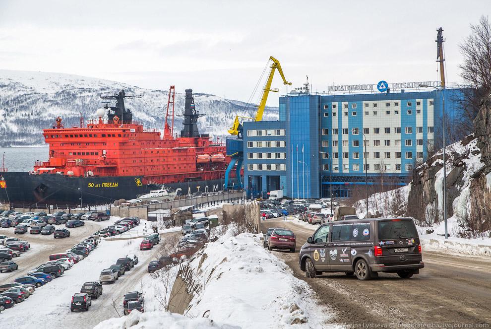 12. Этот ледокол класса «Арктика» не просто красавец, а еще и силач: его мощность — 75 000 лоша