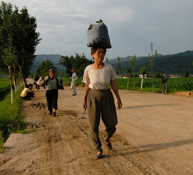 2. Северная Корея - заповедник непуганых коммунистов. Раз в неделю, паровоз увозит одинокий вагон от