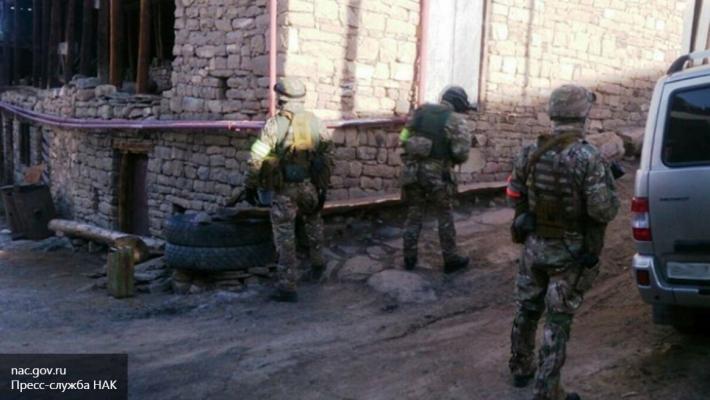 Силовики вДагестане проводят операцию поликвидации боевиков