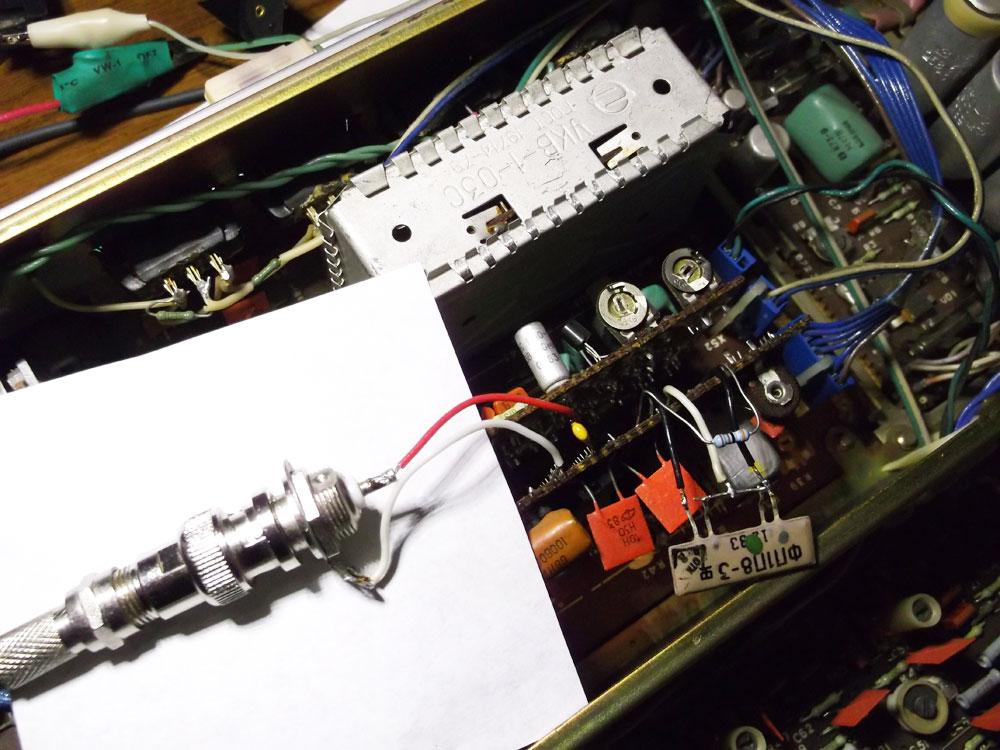 Радиотехника Т-101 Перестройка на FM блока ДЧМ-1-Б