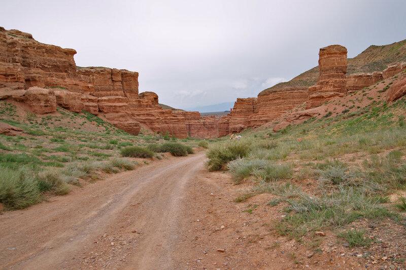 Пешком по Чарынскому каньону
