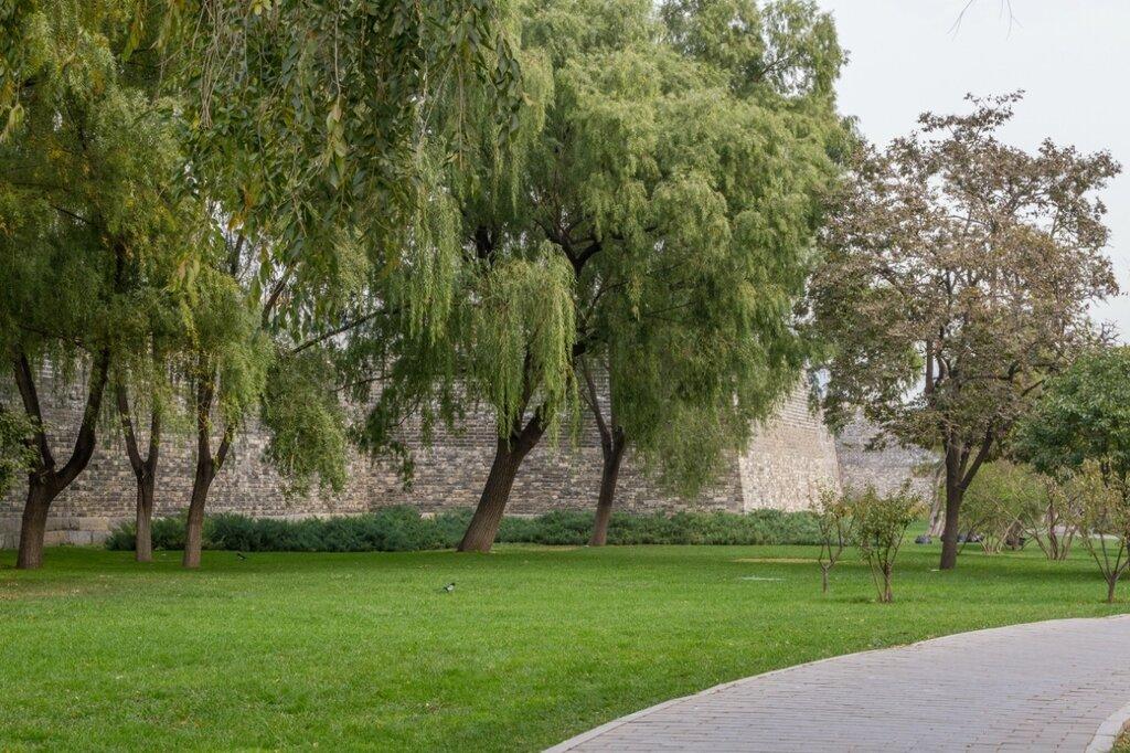 Парк стены эпохи Мин