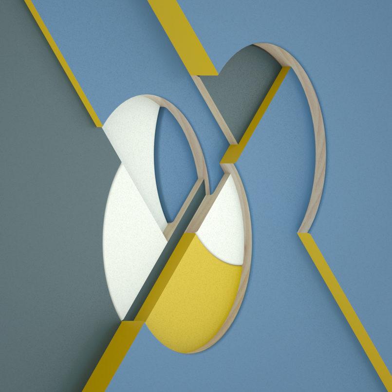 Circular Intersections: Digital Artworks by Jean-Michel Verbeeck