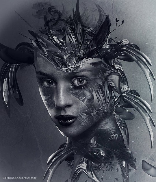 Hot Digital Art by Bojan Jevtic