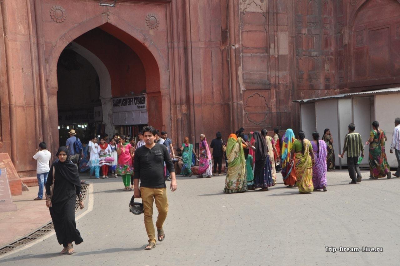 Вход в Красный форт через Лахорские ворота