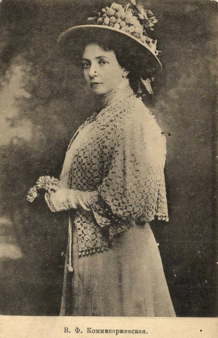 17 сентября 1915 года состоялось открытие надгробия на могиле актрисы работы скульптора Марии Диллон