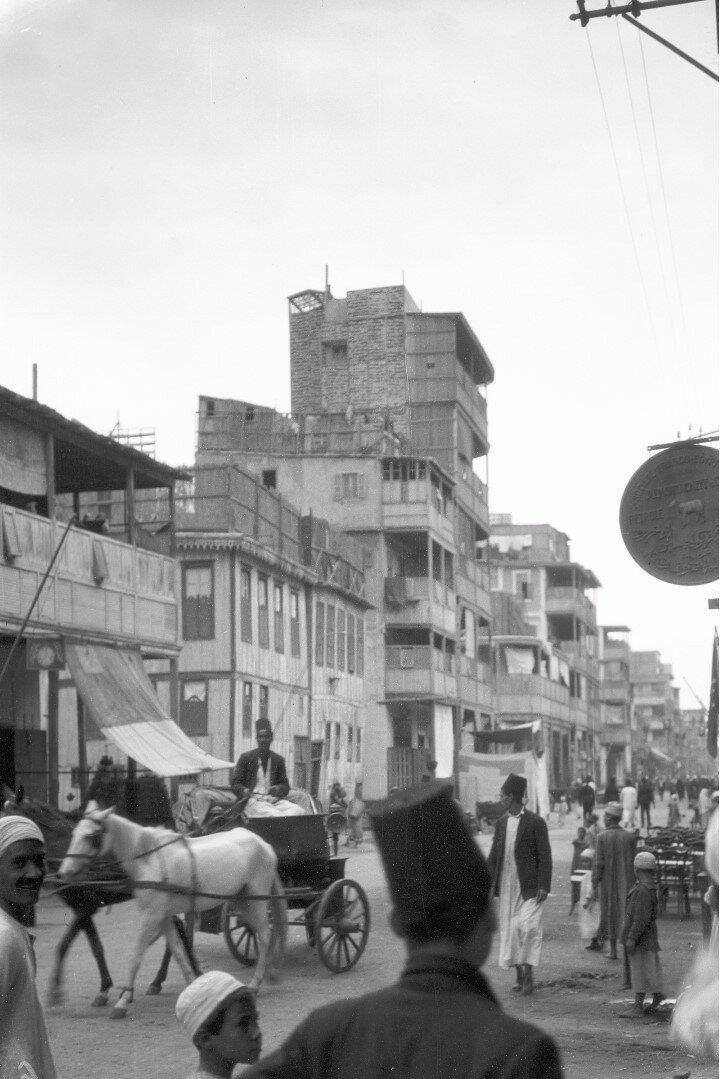 09. Порт-Саид. Уличная сцена