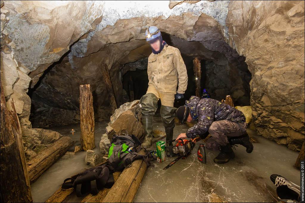 Новый год в заброшенной шахте