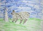 Фёдорова Лиза (рук. Попова Эльвира Ивановна) - Мишка косолапый, он в лесу живет