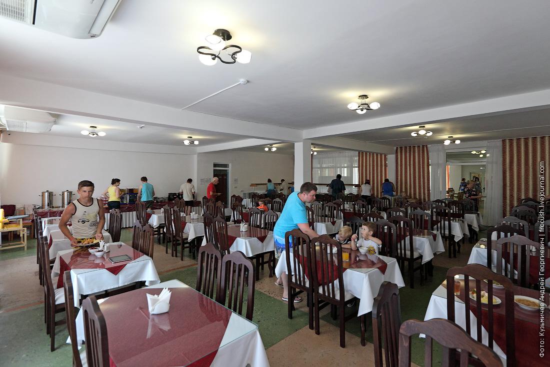 шведский стол пансионат славянка анапа