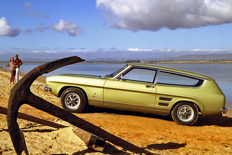 All at sea with this Capri GT