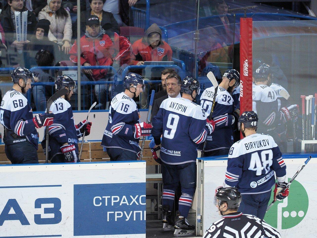 76Плей-офф 2016 Восток Финал Металлург - Салават Юлаев 31.03.2016