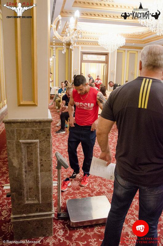 Кубок «Столица Каспия» по бодибилдингу 2017 (Регистрация)