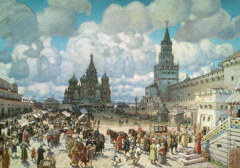 Живопись Аполлинария Васнецова