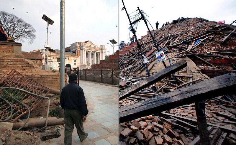Год после землетрясения в Непале