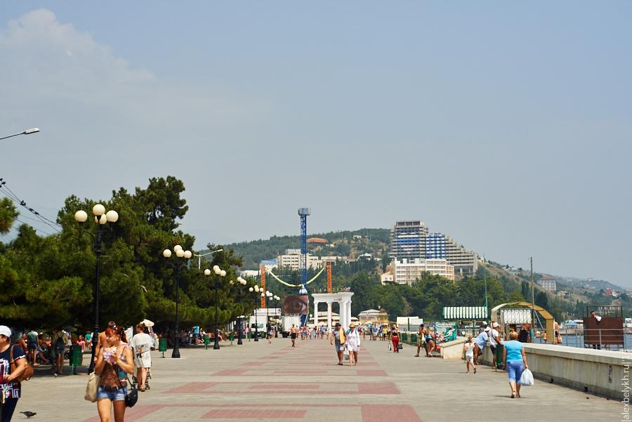 alexbelykh.ru, Крым, пляж Алушта