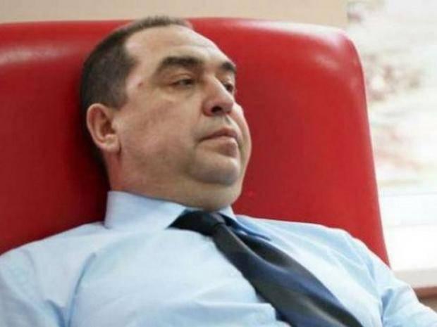 """Главарь """"ЛНВ"""" приступил к работе, - российские СМИ"""