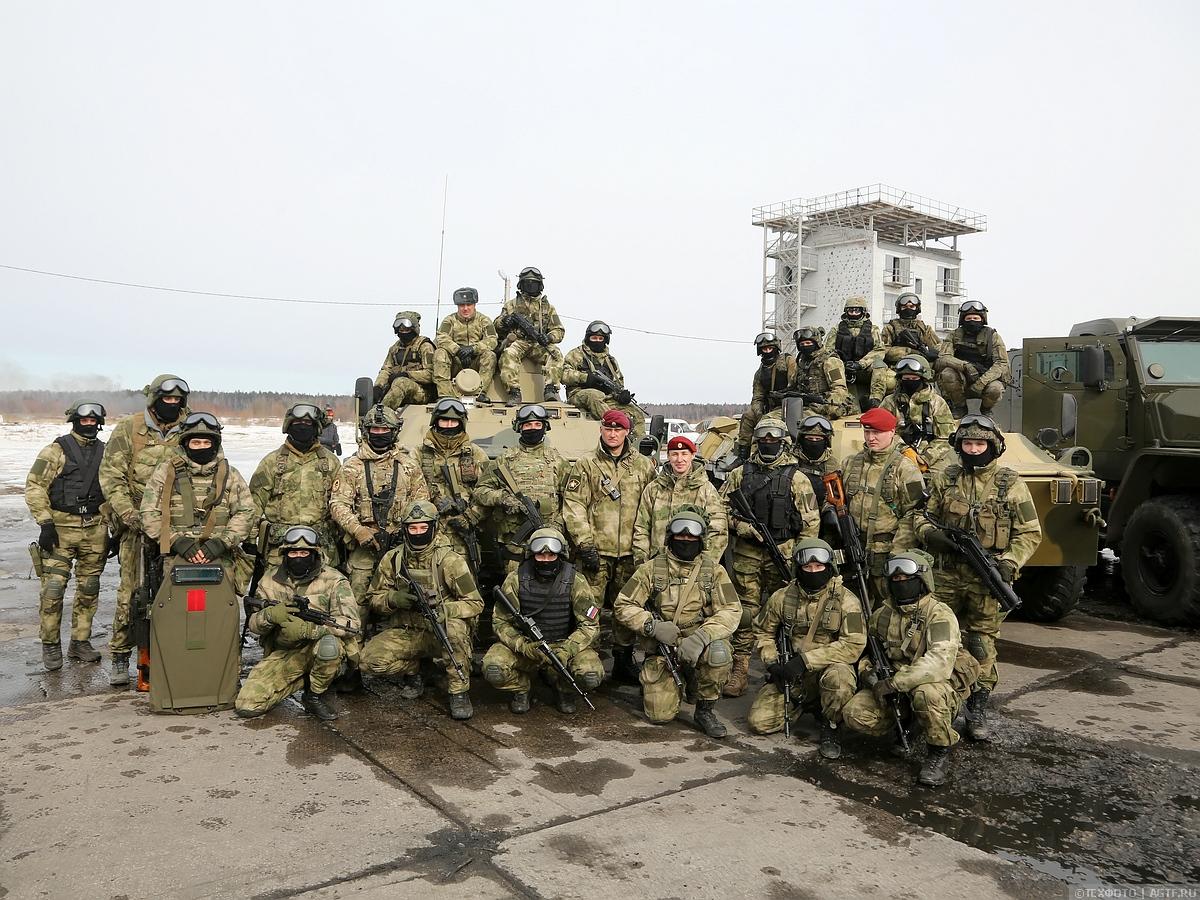 Проверка военнослужащих ВВ МВД РФ к выполнению поставленных задач.