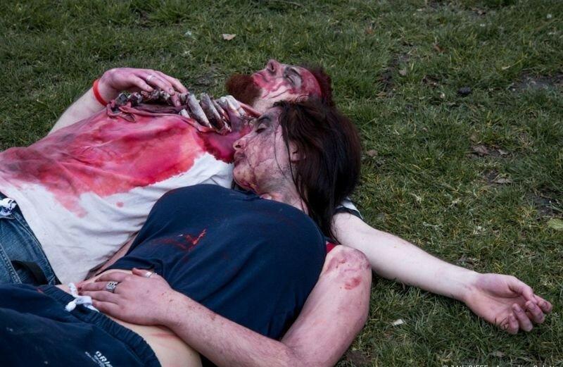 Окровавленные зомби в Брюсселе на фестивале фантастики 0 16079f d61d6358 XL