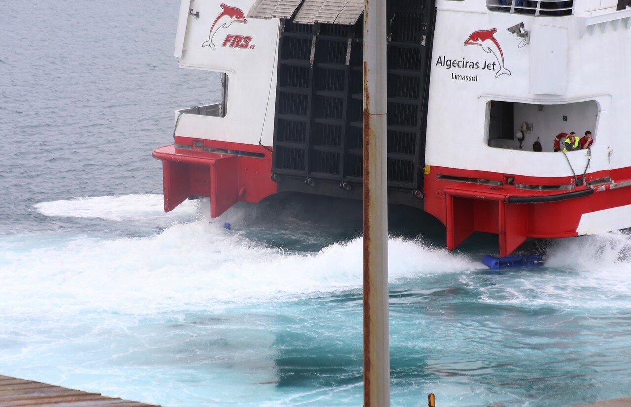 Скоростной морской катамаран Algeciras Jet