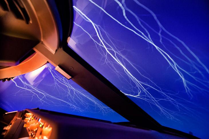 1. Вид из кабины самолета. (Фото Christiaan van Heijst | Daan Krans):