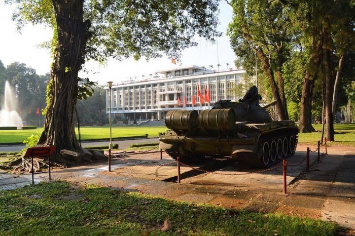Резиденция президента Южного Вьетнама в Хошимине