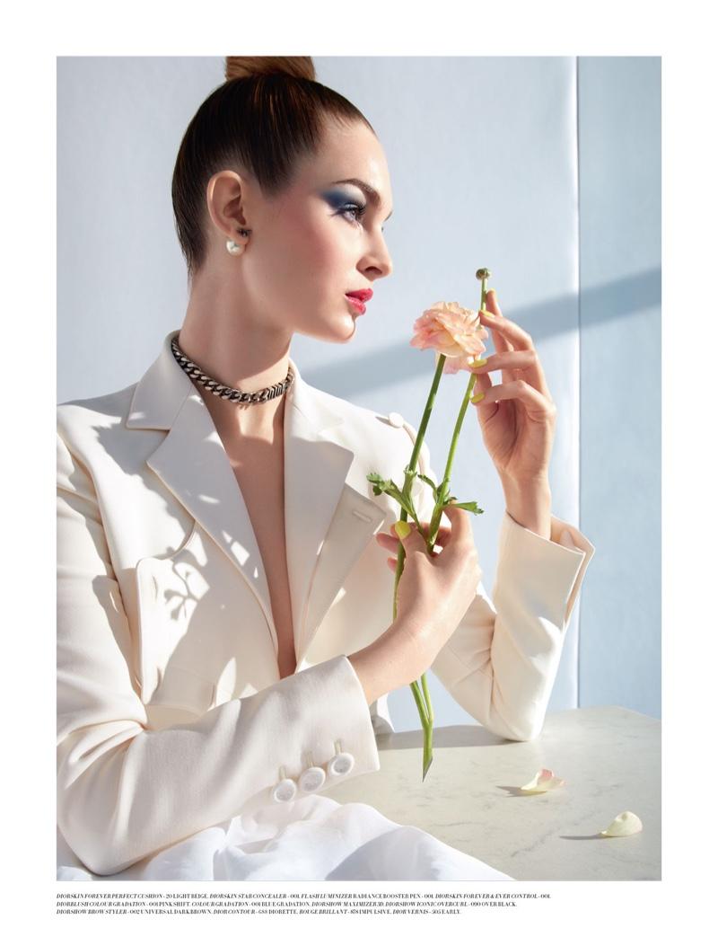Фотосессия для Dior Magazine