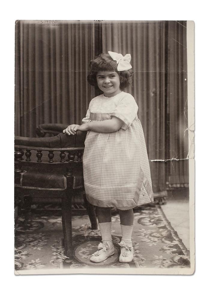 2. Фрида Кало, 4 года. Родилась и выросла в маленьком городке в районе Мехико.