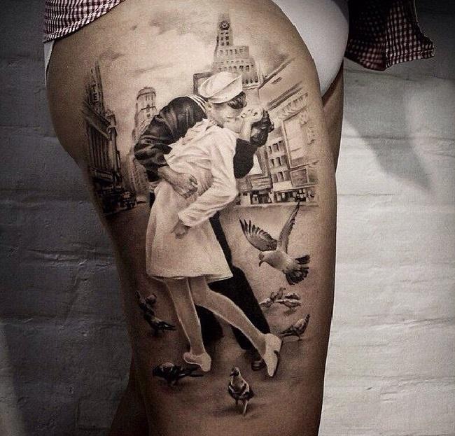 27 нереально крутых татуировок, которые выглядят, как живые (27 фото)