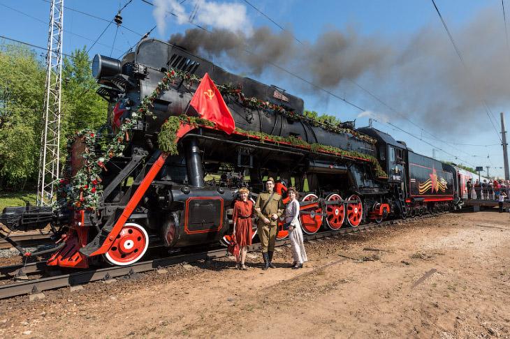 Поезд Победы (21 фото)