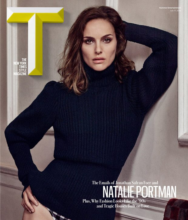 Натали Портман в T Magazine