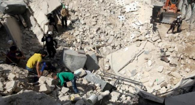 Госдеп обвинилРФ внанесении авиаударов помирному населению Сирии