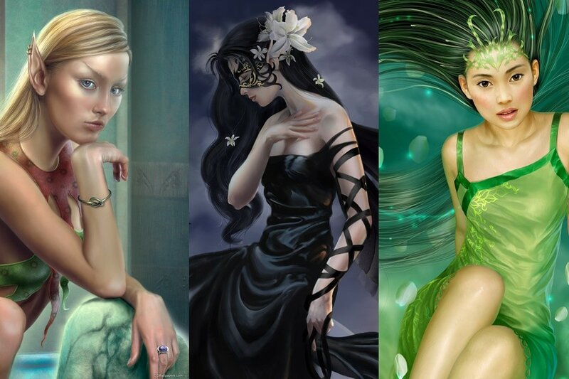 Красивые обои с современными картинами (Art Wallpapers)