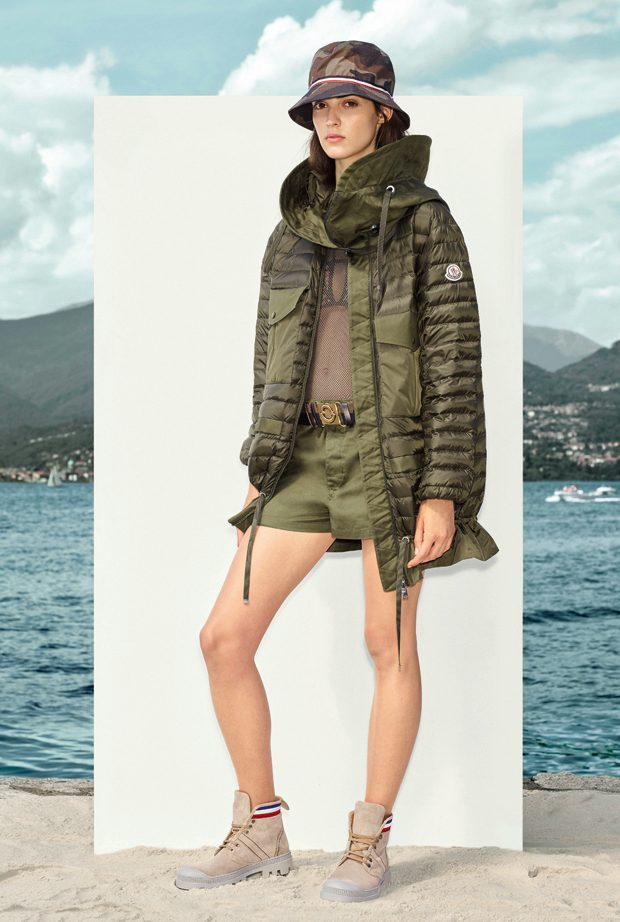 MONCLER SPRING SUMMER 2017 WOMEN'S COLLECTION