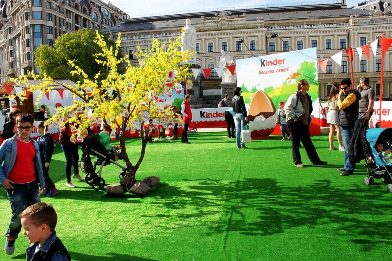 Площадка развлечений от Киндер-сюрприза