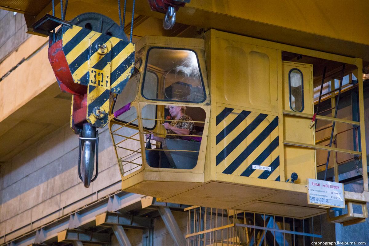 Монтаж рабочего колеса гидроагрегата №7 на Жигулёвской ГЭС 0_112362_37e16b2f_orig