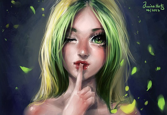 Creative Portrait Illustrations by Junica Hots